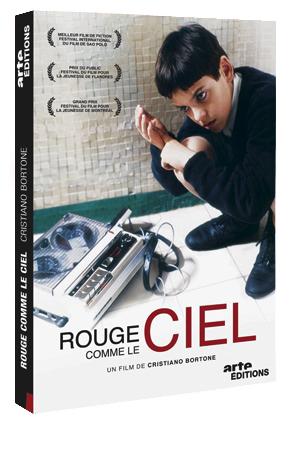 Dvd du film Rouge comme le ciel, édition Arte.