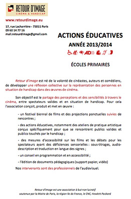 lien vers la fiche d'actions éducatives école primaire 2014 en pdf