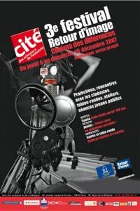 Affiche du 3ème festival Retour d'image 2007