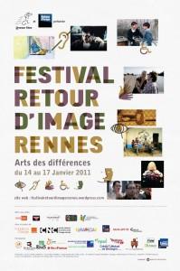 Affiche du festival Retour d'image - Rennes 2011
