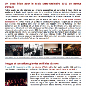 Télécharger notre lettre d'onformation 18 de décembre 2012 en cliquant ici