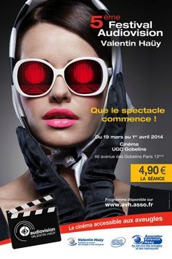 Affiche du Festival Audiovision de l'AVH