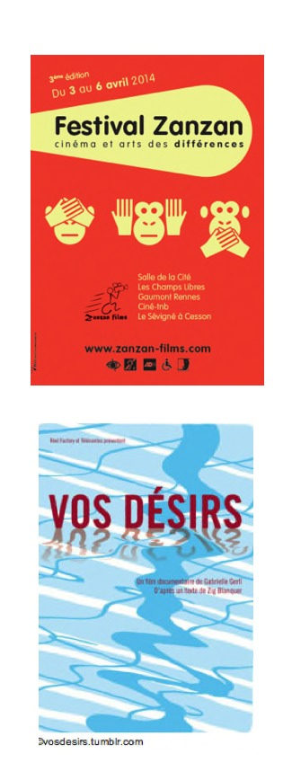 Affiche du Festival Zanzan du 3 au 6 avril 2014