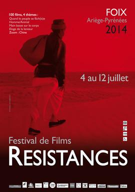 Affiche du Festival Résistances 2014