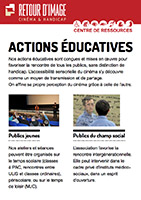 Actions éducatives de Retour d'image en pdf