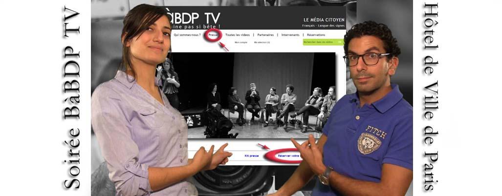 Conférence BàBD production TV et formation