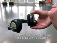Lien vers les vidéos sur les équipements permettant de diffuser l'audiodescription.