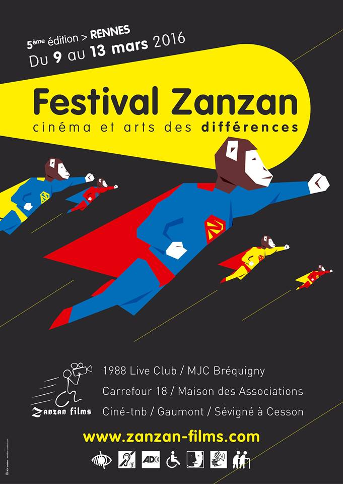 5eme édition Festival Zanzan du 9 au 13 mars 2016