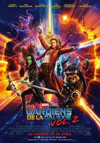 Les gardiens de la galaxie 2 film 2017