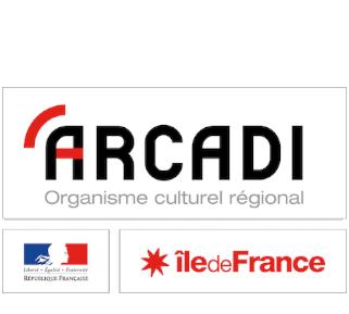 Logo d'Arcadi Ile-de-France
