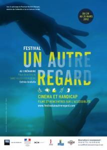 Affiche du Festival Un autre Regard 2012, du 29 au 31 mars 2012.