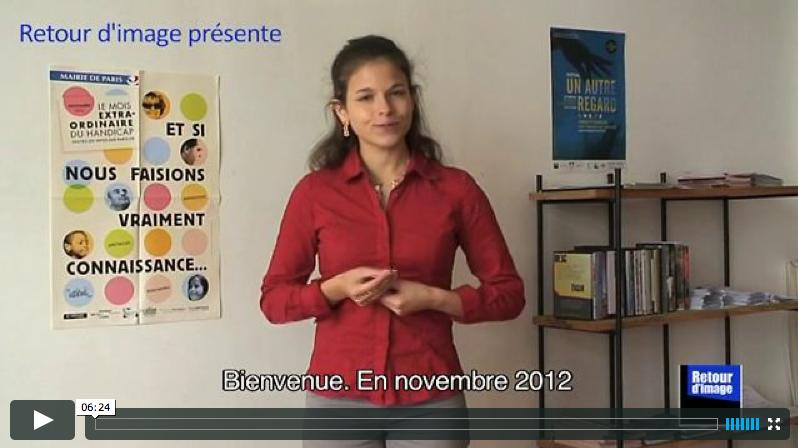 Video en LSF présenté par Hélène Champroux - mois Extro-ordinaire 2012