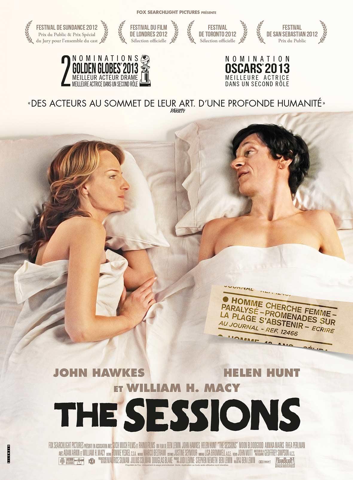 Affiche du film The Sessions.