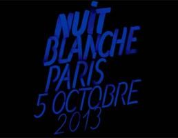 Affiche de la Nuit Blanche 2013