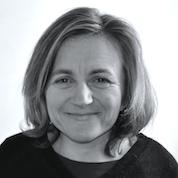 Portrait noir et blanc de Diane