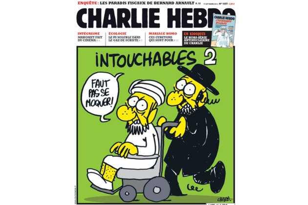 Charlie Hebdo Une avec le film Intouchable