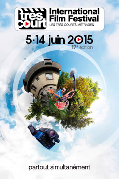 affiche du festival de films courts 2015