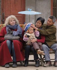Yolande Moreau dans le film Voyage en Chine