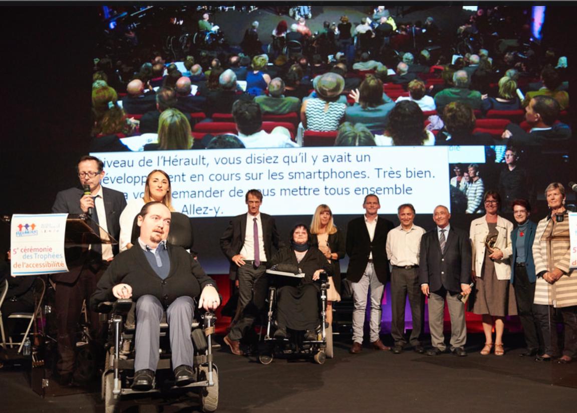 Photo © Trophées de l'accessibilité / Accès pour tous