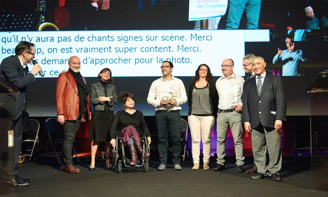 Photo © Trophees de l'accessibilité / Acceès pour tous