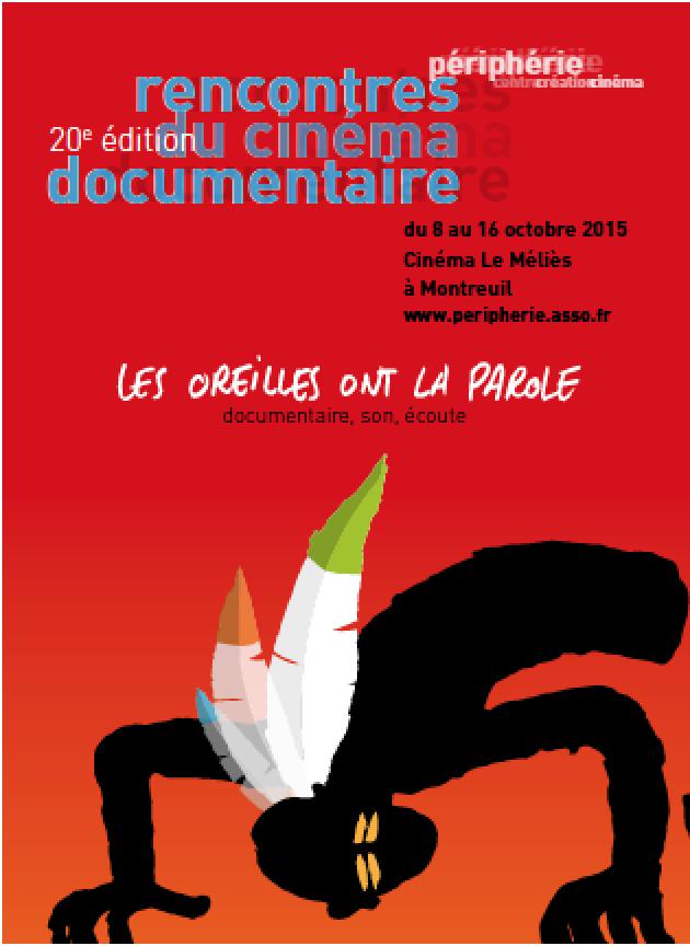 20ème édition des Rencontres du cinéma documentaire