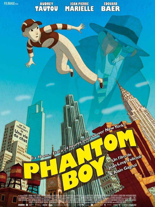 Phantom Boy, Affiche