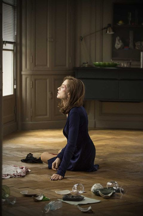Isabelle Hupper dans le film Elle