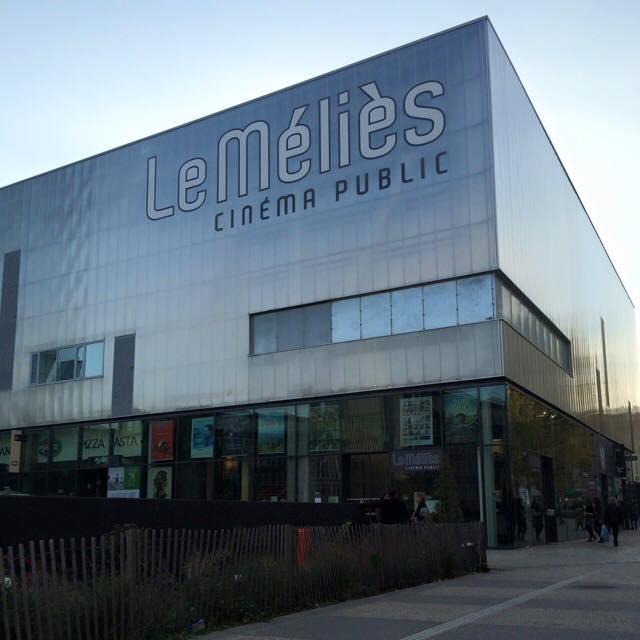 Facade cinema Le Melies Montreuil