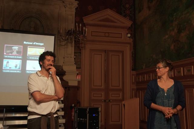 Olivier Schetrit ecoute les enfants