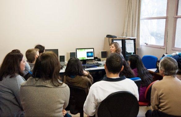 Photographie d'un atelier d'initiation à l'écriture d'audiodescription