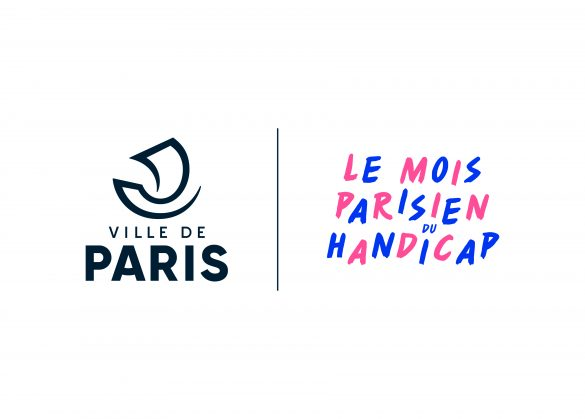 """Logo """"Ville de Paris - Le Mois Parisien du Handicap"""""""