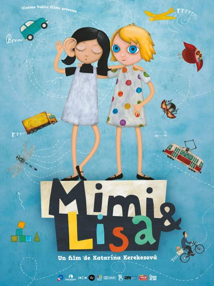 Affiche du court métrage d'animation Mimi & Lisa
