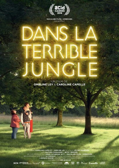 "Affiche du documentaire ""Dans la terrible jungle"""